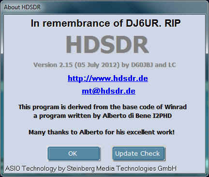 DL7UKM's Collection of Amateur Radio Links ---> SDR Software